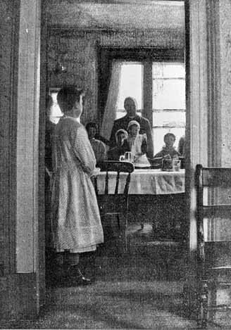 The dining room at the Audenshaw Home