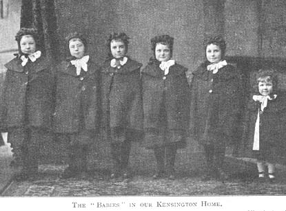 The 'babies' of the Kensington Home