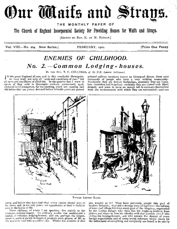 Our Waifs and Strays February 1902 - page 18
