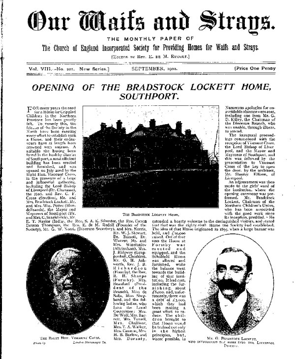 Our Waifs and Strays August 1902 - page 164