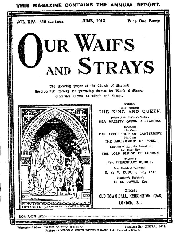 Our Waifs and Strays June 1913 - page 142