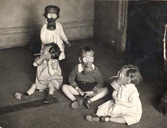 During the Blitz, children in urban areas were well rehearsed in the necessary safety precautions. Owing to the size of some Society homes, a thoroughly practised drill was an important measure should the air-raid sirens sound.
