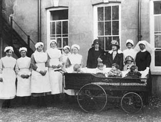 The Brighton Home began to house younger children around this time, and these nurses and toddlers would have all been new to the Home.