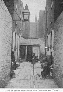 Many Victorian journalists and novelists carried out 'social investigations' into the plight of the urban poor. Charles Dickens wrote of the 'wretched houses with broken windows patched with rags and paper; every room let out to a different family, and in many instances to two or three.'