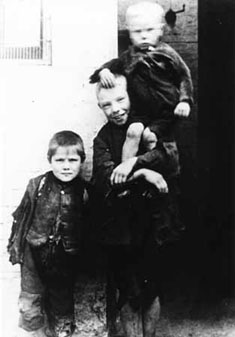 The Waifs and Strays' Society often took young siblings into care together. It was common to find brothers and sisters living on the streets, sharing whatever food they could find and looking out for each other.
