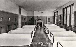 Dormitory, St Mary's Home, Cheam
