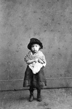 Poor children would arrive into homes with all their worldly possessions, which usually amounted to very little. One little girl at the Rose Cottage Home in Dickleburgh arrived clutching only 'a chestnut and a penny'.