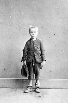 The late 19th century was a time of great social reform, and the extent of child poverty was only beginning to be realised. Images of such ragged and forlorn children, are today only associated with developing countries.